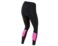 Image 2 for Pearl Izumi Women's Pursuit Attack Cycle Tight (Black/Screaming Pink) (L)