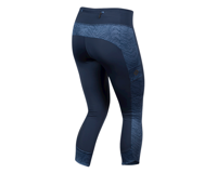 Image 2 for Pearl Izumi Women's Studio 3/4 Tight (Navy Phyllite) (S)