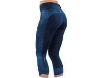 Image 3 for Pearl Izumi Women's Studio 3/4 Tight (Navy Phyllite) (S)