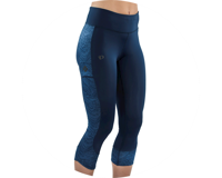 Image 4 for Pearl Izumi Women's Studio 3/4 Tight (Navy Phyllite) (S)