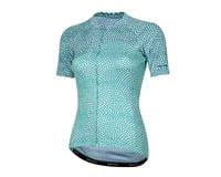 Pearl Izumi Women's Elite Pursuit Short Sleeve Jersey (Glacier/Teal Kimono)