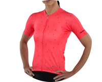 Image 4 for Pearl Izumi Women's Elite Pursuit Short Sleeve Jersey (Atomic Red) (XL)