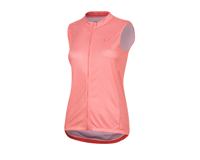 Image 1 for Pearl Izumi Women's Select Escape Sleeveless Graphic Jersey (Sugar Coral Kimono) (XL)