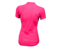 Image 2 for Pearl Izumi Women's Select Pursuit Short Sleeve Jersey (Screaming Pink/Black) (2XL)