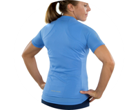 Image 3 for Pearl Izumi Women's Select Pursuit Short Sleeve Jersey (Lavender/Eventide) (XS)