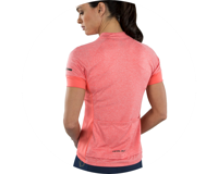 Image 3 for Pearl Izumi Women's Select Escape Short Sleeve Jersey (Sugar Coral/Peach) (XL)