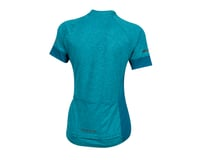 Image 2 for Pearl Izumi Women's Select Escape Short Sleeve Jersey (Teal/Breeze) (M)