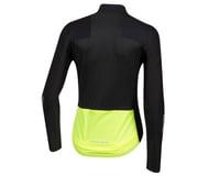 Pearl Izumi Women's PRO Pursuit Long Sleeve Wind Jersey (Black) (L)