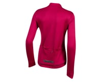 Image 2 for Pearl Izumi Women's PRO Merino Thermal Jersey (Beet Red) (L)