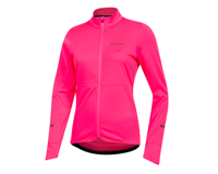Image 1 for Pearl Izumi Women's Quest Thermal Jersey (Screaming Pink) (XL)
