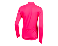 Image 2 for Pearl Izumi Women's Quest Thermal Jersey (Screaming Pink) (XL)