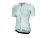 Image 1 for Pearl Izumi Women's PRO Mesh Jersey (Glacier/Navy Wish) (S)