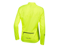 Image 2 for Pearl Izumi Women's Elite Escape Barrier Jacket (Screaming Yellow) (XL)