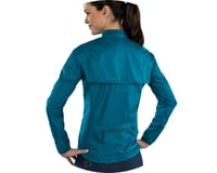 Image 3 for Pearl Izumi Women's Elite Escape Convertible Jacket (Teal) (XS)