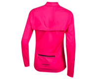Image 2 for Pearl Izumi Women's Elite Escape Convertible Jacket (Screaming Pink) (2XL)