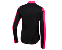 Image 2 for Pearl Izumi Women's Elite Pursuit Hybrid Jacket (Screaming Pink/Black) (L)