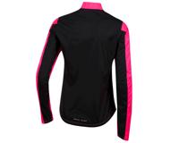 Image 2 for Pearl Izumi Women's Elite Pursuit Hybrid Jacket (Screaming Pink/Black) (XL)