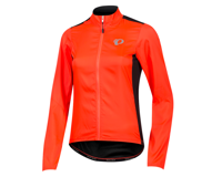 Image 1 for Pearl Izumi Women's Elite Pursuit Hybrid Jacket (Fiery Coral/Black) (S)