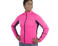 Image 3 for Pearl Izumi Women's Quest AmFIB Jacket (Screaming Pink/Navy) (M)