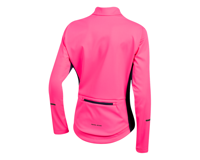 Image 2 for Pearl Izumi Women's Quest AmFIB Jacket (Screaming Pink/Navy) (XL)