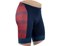Image 4 for Pearl Izumi Elite Graphic Tri Short (Torch Red/Navy Stripe) (2XL)
