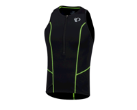 Image 1 for Pearl Izumi Select Pursuit Tri Singlet (Black/Screaming Yellow) (XL)