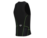 Pearl Izumi Elite Pursuit Tri Singlet (Black/Screaming Green) (XL)