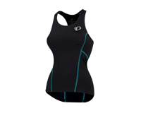 Pearl Izumi Women's Select Pursuit Tri Tank (Black/Breeze)