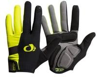 Image 1 for Pearl Izumi Elite Gel Full Finger Glove (Black/Screaming Yellow) (M)