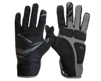 Image 1 for Pearl Izumi Cyclone Gel Full Finger Cycling Gloves (Black) (M)