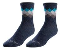 Pearl Izumi Merino Wool Socks (Navy/Teal Solitare) (XL)