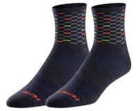 Pearl Izumi Merino Wool Socks (Navy Dash) (M)