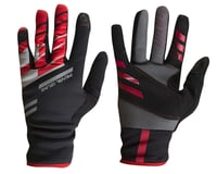 Image 1 for Pearl Izumi PRO Softshell Lite Gloves (Black/Red) (XS)