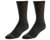 Pearl Izumi Merino Wool Tall Sock (Forest/Flame Crossing)