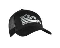 Pearl Izumi Recycled Trucker Hat (Bike Stripe Black)