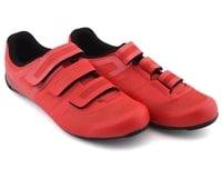 Image 4 for Pearl Izumi Quest Road Shoe (Torch Red/Black) (42)