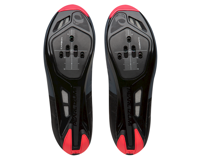 Image 3 for Pearl Izumi Women's Attack Road Shoe (Black/Atomic Red) (41.5)