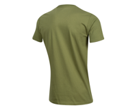 Image 2 for Pearl Izumi Organic Cotton T-Shirt (Lines Logo Olive) (S)