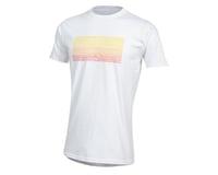 Pearl Izumi Organic Cotton T-Shirt (Lines Logo White)
