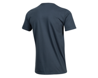 Image 2 for Pearl Izumi Organic Cotton T-Shirt (Linear Logo Navy)