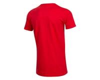 Pearl Izumi Organic Cotton T-Shirt (Linear Logo Red) (M)
