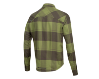 Image 2 for Pearl Izumi Rove Longsleeve Shirt (Forest/Willow Plaid) (2XL)