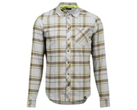 Pearl Izumi Rove Long Sleeve Shirt (Dark Olive/Fog Plaid)