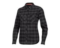 Image 1 for Pearl Izumi Women's Rove Longsleeve Shirt (Black/Phantom Plaid) (M)