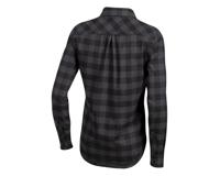 Image 2 for Pearl Izumi Women's Rove Longsleeve Shirt (Black/Phantom Plaid) (S)