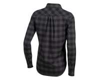Image 2 for Pearl Izumi Women's Rove Longsleeve Shirt (Black/Phantom Plaid) (XS)