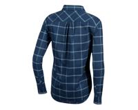 Image 2 for Pearl Izumi Women's Rove Longsleeve Shirt (Navy/Aquifer Plaid) (L)