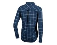 Image 2 for Pearl Izumi Women's Rove Longsleeve Shirt (Navy/Aquifer Plaid) (XS)