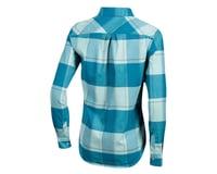 Image 2 for Pearl Izumi Women's Rove Long Sleeve Shirt (Teal/Aquifer Plaid) (L)