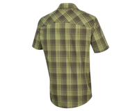 Image 2 for Pearl Izumi Short Sleeve Buttom-up (Forest Plaid) (L)